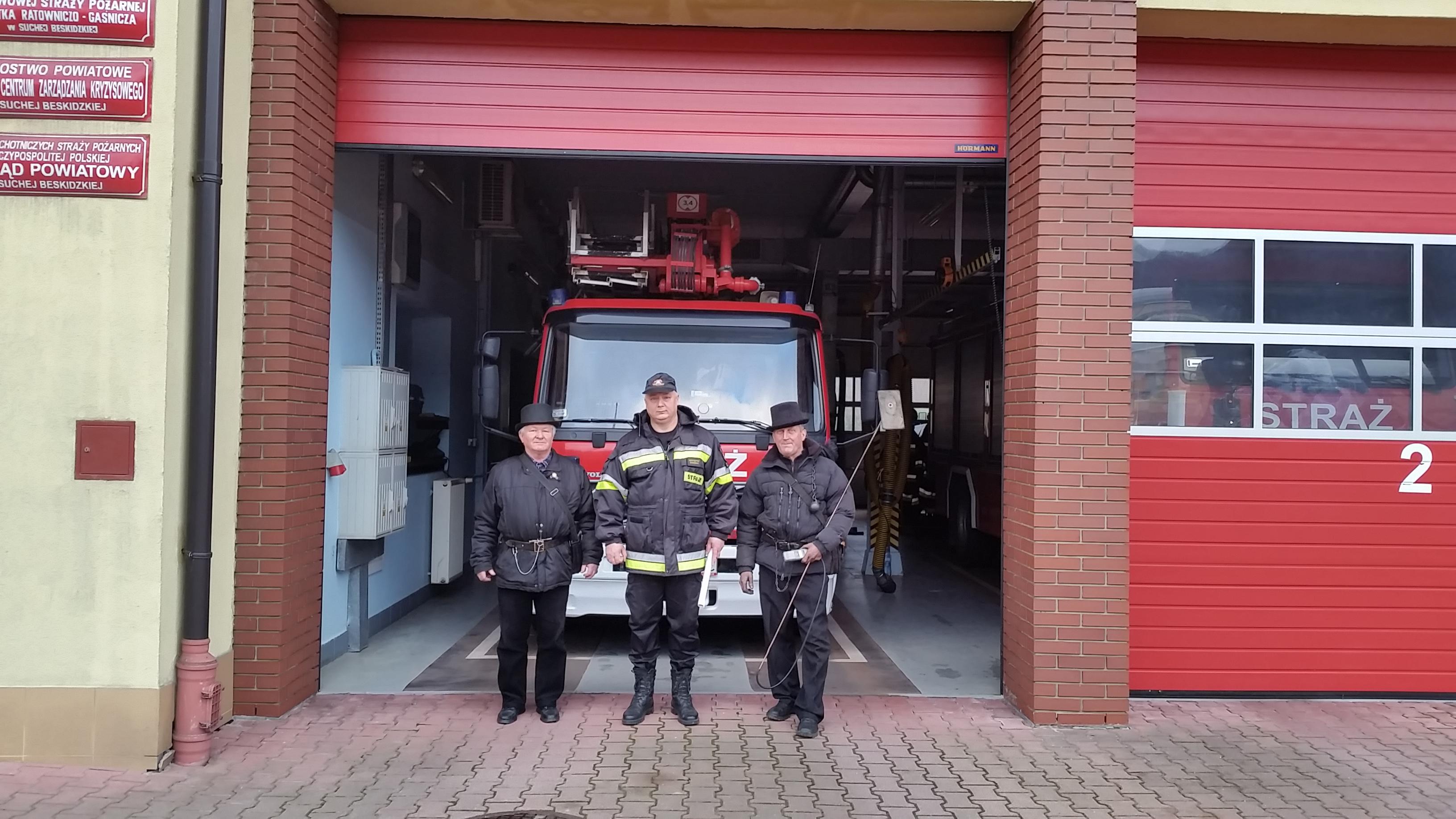 Nietypowy Okaz Przegląd instalacji wentylacyjnej oraz dymowej w KP PSP Sucha KD94