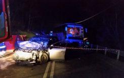 """Więcej o: Wypadek na drodze nr 7 """"zakopianka"""" w miejscowości Naprawa."""