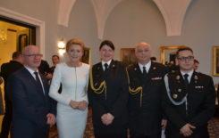 Więcej o: Wizyta strażaków w Pałacu Prezydenckim