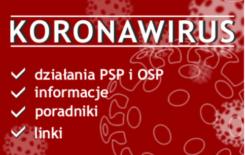 Więcej o: Komenda Główna PSP materiały o koronawirusie